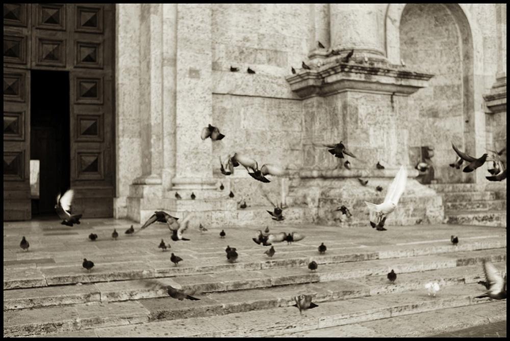 009 medieval italian city